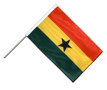 Ghana - Hand Waving Flag PRO 2x3 ft