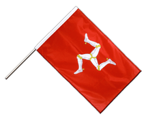 Isle of man - Hand Waving Flag PRO 2x3 ft
