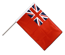 Red Ensign - Hand Waving Flag PRO 2x3 ft