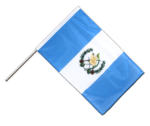 Guatemala - Hand Waving Flag PRO 2x3 ft