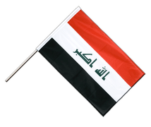 Iraq 2009 - Hand Waving Flag PRO 2x3 ft
