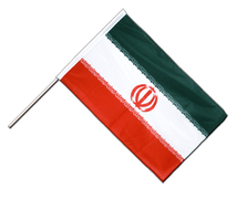 Iran - Hand Waving Flag PRO 2x3 ft