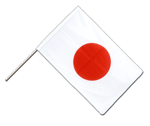 Japan Hand Waving Flag PRO - 2x3 ft