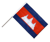 Cambodia - Hand Waving Flag PRO 2x3 ft
