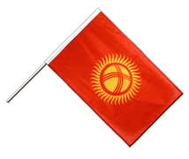 Kyrgyzstan - Hand Waving Flag PRO 2x3 ft