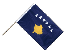 Kosovo - Hand Waving Flag PRO 2x3 ft