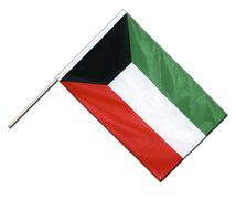 Kuwait - Hand Waving Flag PRO 2x3 ft