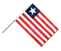 Liberia - Hand Waving Flag PRO 2x3 ft