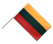 Lithuania - Hand Waving Flag PRO 2x3 ft