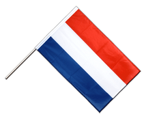 Hand Waving Flag PRO Luxembourg - 2x3 ft