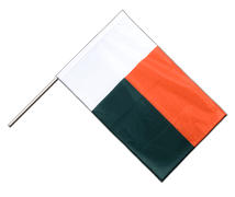 Madagascar - Hand Waving Flag PRO 2x3 ft
