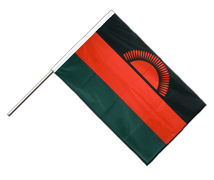 Malawi new - Hand Waving Flag PRO 2x3 ft