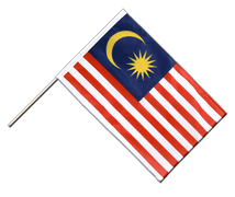 Malaysia - Hand Waving Flag PRO 2x3 ft