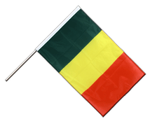 Mali Hand Waving Flag PRO - 2x3 ft