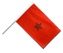Morocco - Hand Waving Flag PRO 2x3 ft