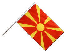 Macedonia Hand Waving Flag PRO - 2x3 ft
