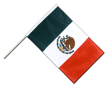 Mexico - Hand Waving Flag PRO 2x3 ft