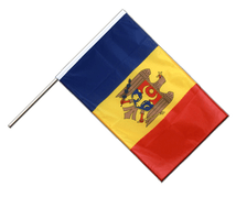 Moldova - Hand Waving Flag PRO 2x3 ft