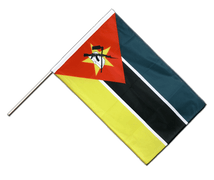Mozambique - Hand Waving Flag PRO 2x3 ft