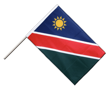 Namibia - Hand Waving Flag PRO 2x3 ft