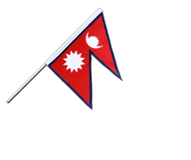 Nepal Hand Waving Flag PRO - 2x3 ft