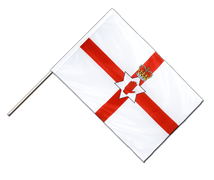 Northern Ireland - Hand Waving Flag PRO 2x3 ft