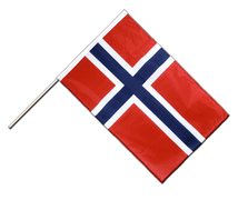 Norway - Hand Waving Flag PRO 2x3 ft