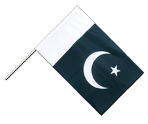 Pakistan - Hand Waving Flag PRO 2x3 ft