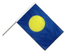 Hand Waving Flag PRO Palau - 2x3 ft