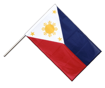 Philippines - Hand Waving Flag PRO 2x3 ft