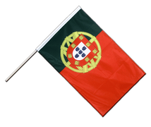 Hand Waving Flag PRO Portugal - 2x3 ft