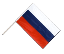 Russia - Hand Waving Flag PRO 2x3 ft