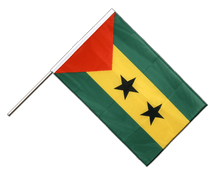 Sao Tome and Principe - Hand Waving Flag PRO 2x3 ft