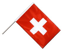 Hand Waving Flag PRO Switzerland - 2x3 ft
