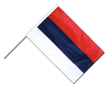 Serbia Hand Waving Flag PRO - 2x3 ft