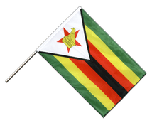 Zimbabwe - Hand Waving Flag PRO 2x3 ft