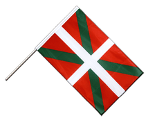 Basque country Hand Waving Flag PRO - 2x3 ft