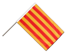 Catalonia - Hand Waving Flag PRO 2x3 ft