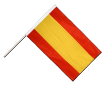 Spain without crest Hand Waving Flag PRO - 2x3 ft