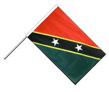 Saint Kitts and Nevis - Hand Waving Flag PRO 2x3 ft