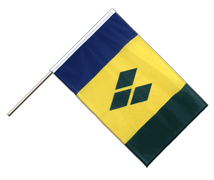 Saint Vincent and the Grenadines - Hand Waving Flag PRO 2x3 ft
