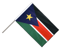 Southern Sudan - Hand Waving Flag PRO 2x3 ft