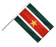 Suriname Hand Waving Flag PRO - 2x3 ft