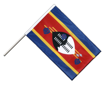 Swaziland - Hand Waving Flag PRO 2x3 ft