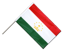 Tajikistan - Hand Waving Flag PRO 2x3 ft