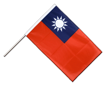 Taiwan - Hand Waving Flag PRO 2x3 ft