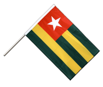 Togo - Hand Waving Flag PRO 2x3 ft