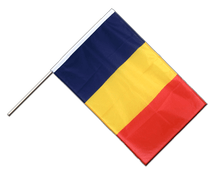 Chad - Hand Waving Flag PRO 2x3 ft