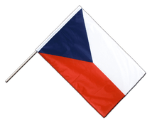 Czech Republic Hand Waving Flag PRO - 2x3 ft
