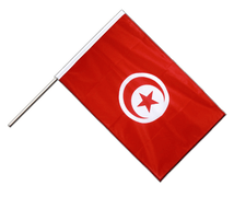 Hand Waving Flag PRO Tunisia - 2x3 ft